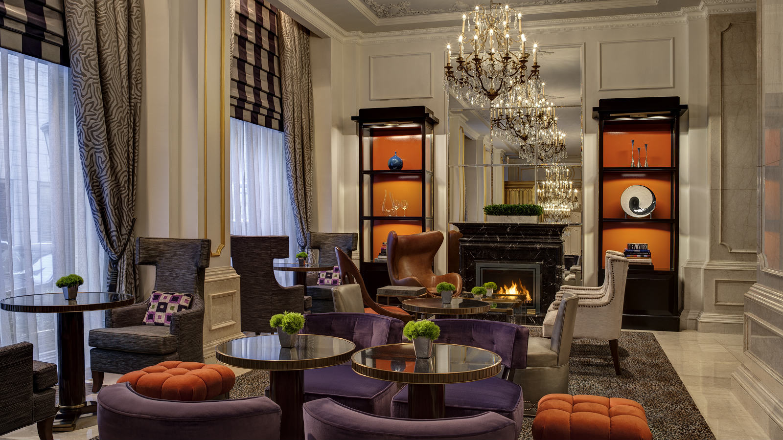 Afternoon Tea NYC - Astor Court Seating - The St. Regis New York