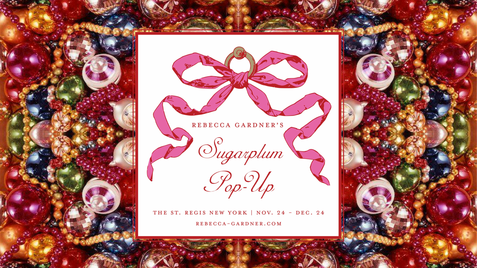 Holiday Pop-Up Shop | The St. Regis New York