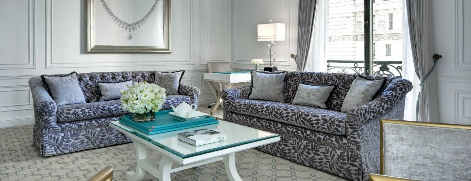 Tiffany suite the st regis new york for Tiffany d living room