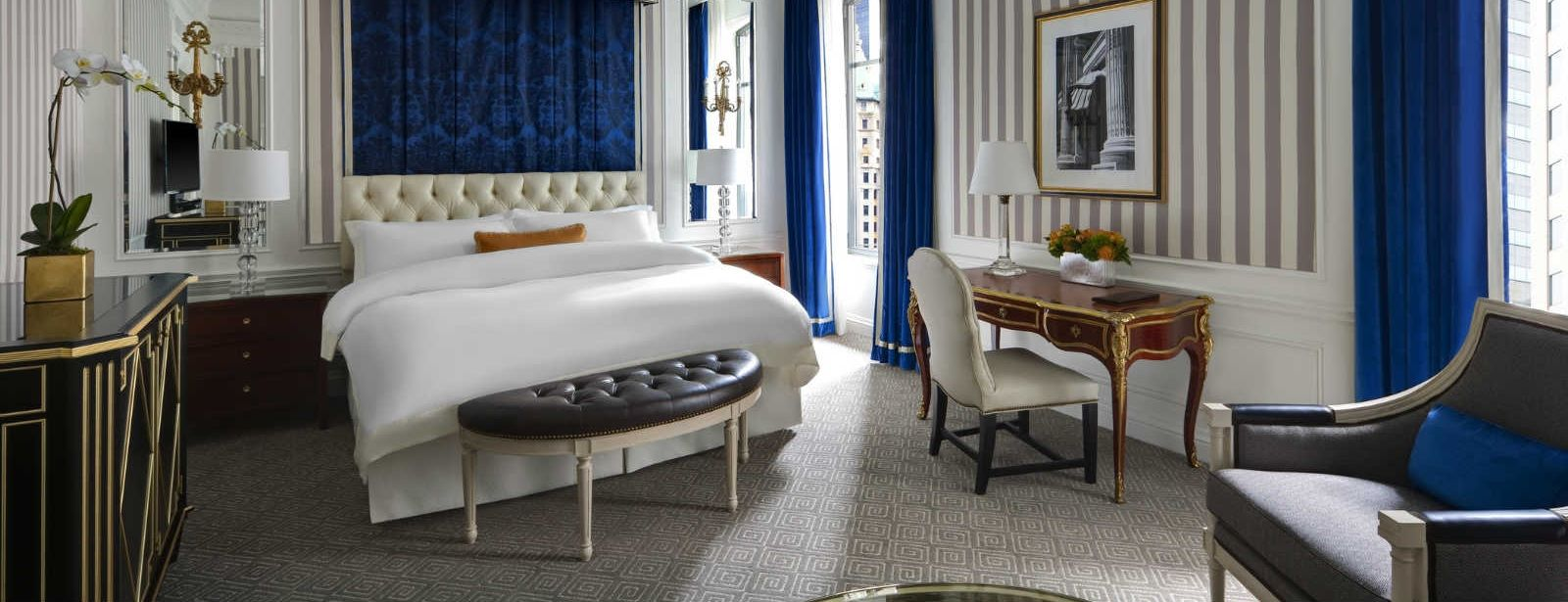 Manhattan Accommodations | Grand Luxe Guest Room